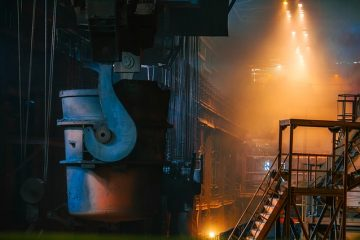 Steel Manufacturing Molten Hot