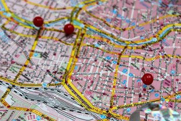 Map Vacations Travel Street Map