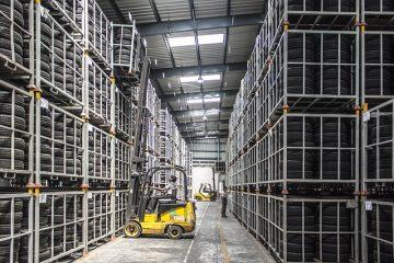 Forklift Warehouse Machine Worker