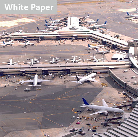 busy airport transportation machine learning solutions