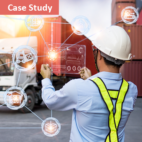 data points on a truck transportation machine learning solutions